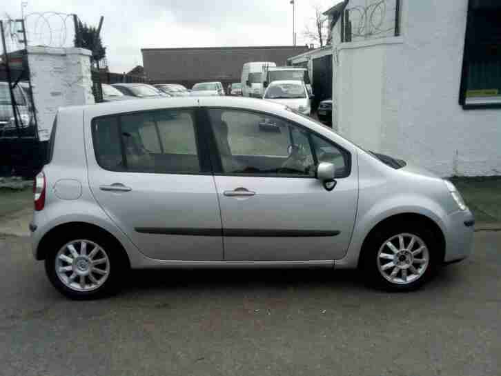 Renault Modus 1.5dCi. Renault car from United Kingdom