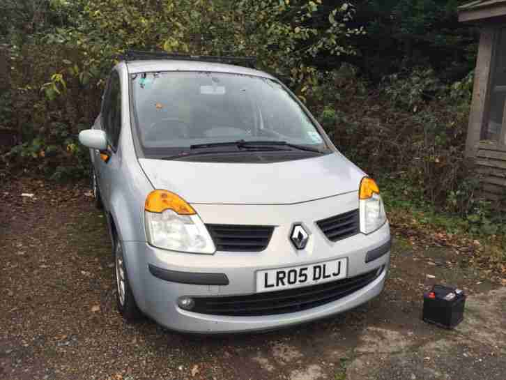 renault modus 2005 good condition but non runner head gasket car for sale. Black Bedroom Furniture Sets. Home Design Ideas
