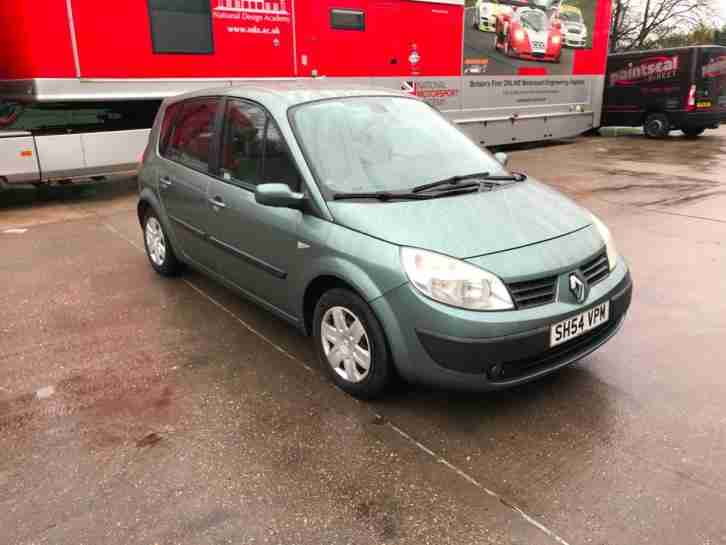 Renault Scenic 1.4. Renault car from United Kingdom