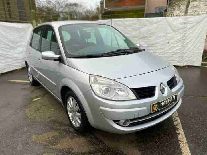 Renault Scenic 1.5dCi. Renault car from United Kingdom