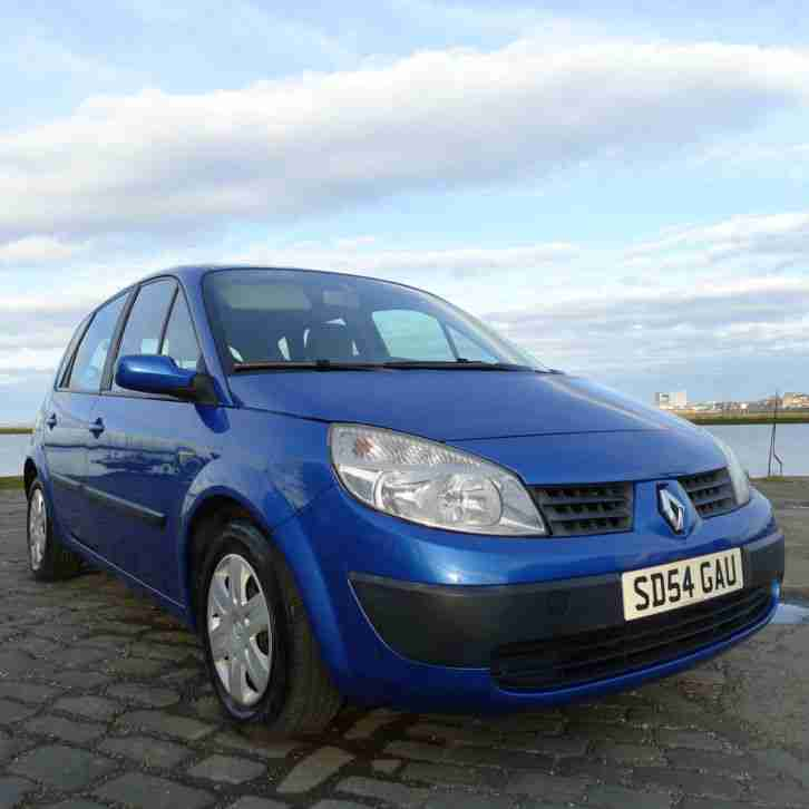 renault scenic 2004 12 months mot car for sale. Black Bedroom Furniture Sets. Home Design Ideas