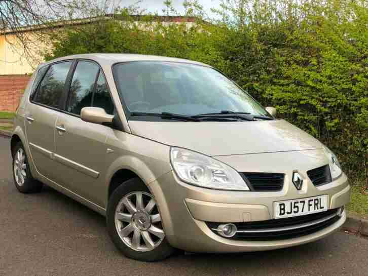 Renault Scenic 1.5dCi Dynamique LOW MILES 45,968 + 11 SERVICE STAMPS