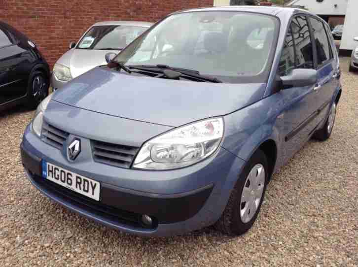 Renault Scenic Sl. Renault car from United Kingdom