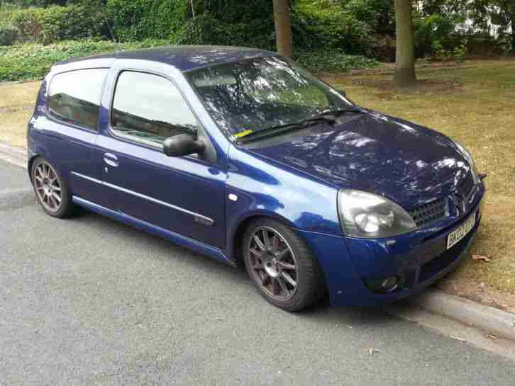 renault clio sport 172 l k car for sale. Black Bedroom Furniture Sets. Home Design Ideas