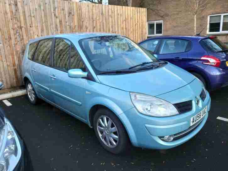 Renault grand scenic, 7 seater, diesel