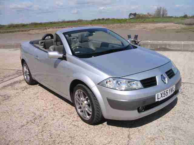 Renault Megane cc. Renault car from United Kingdom