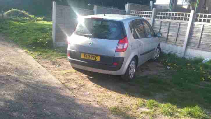 Renault Megane scenic. Renault car from United Kingdom