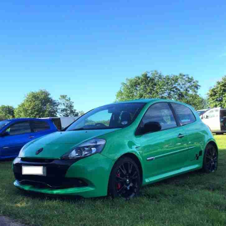 Renault Sport: Renault Sport RS200 Clio 2010, Rare Full Fat Alien Green