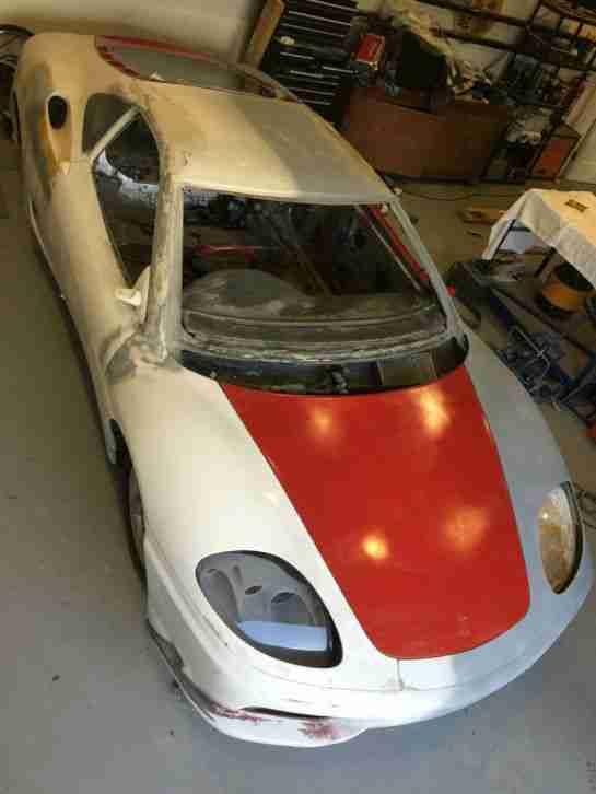 Ferrari Replica 360 Unfinished Project Car For Sale