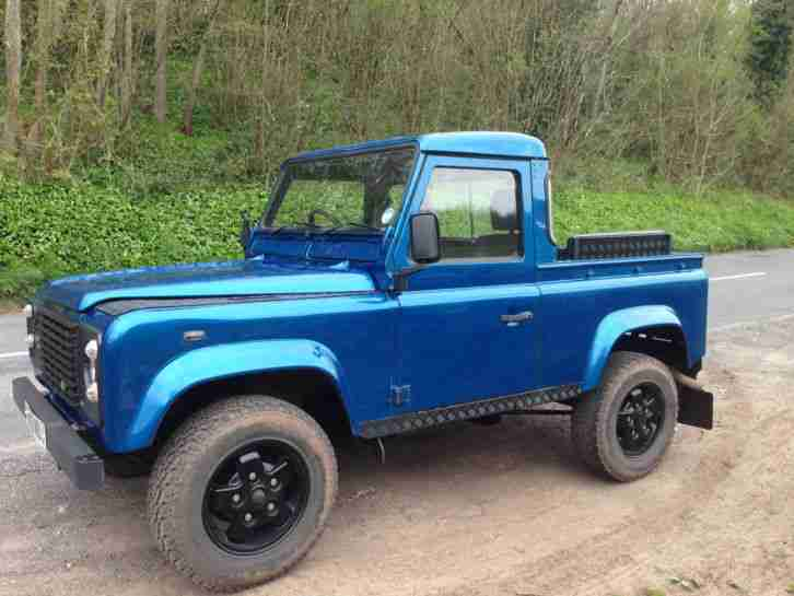 Restored Land Rover Defender 90 Swb Pick Up 300 Tdi 94 L