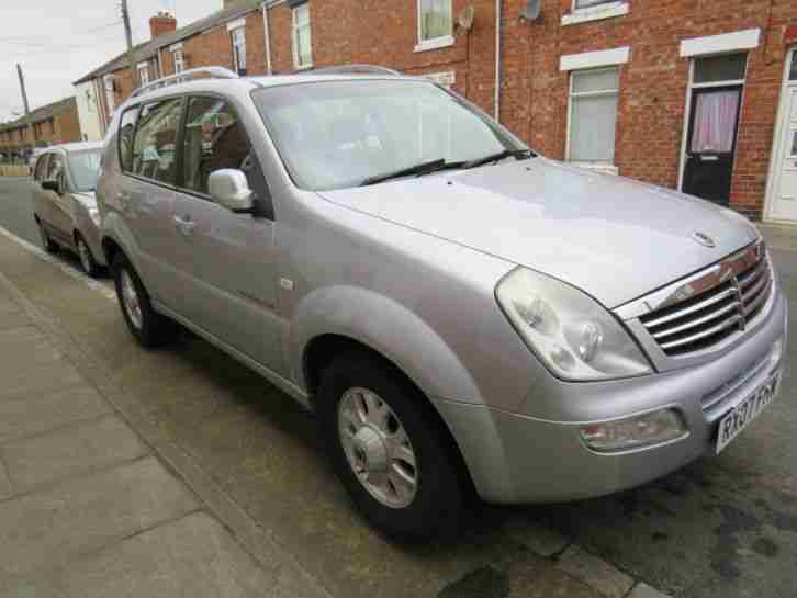 Rexton 270 XDI. Ssangyong car from United Kingdom