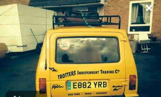 Robin Reliant Three Wheeler only fools and horses car petrol motorcyle bike