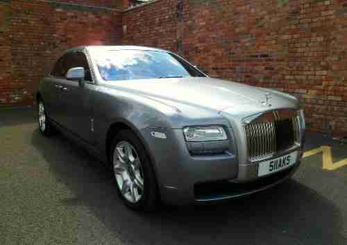 Rolls Royce Ghost. Rolls Royce car from United Kingdom