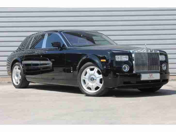 Rolls-Royce Phantom Full RR History, best colour combo PETROL MANUAL 2007/N