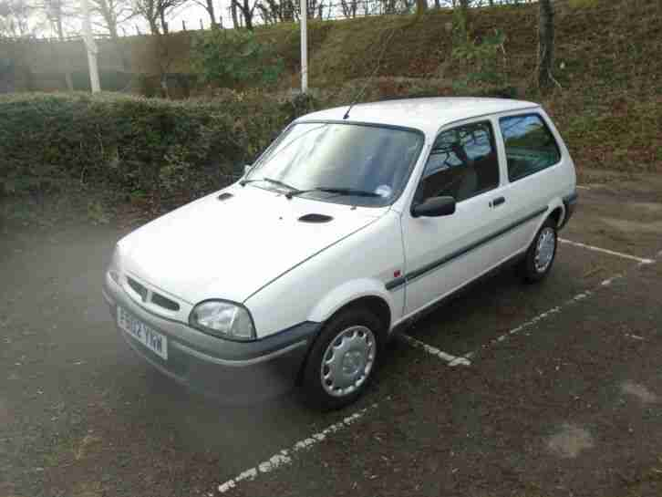 Rover 100 Metro Knightsbridge , white, 97, 48k lovely ,appreciating classic.