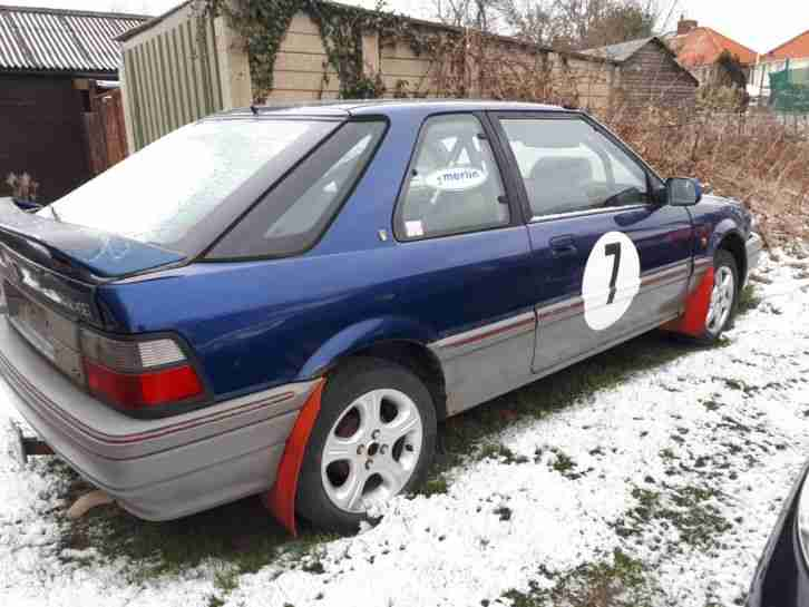 Rover 214 GTI. MG car from United Kingdom