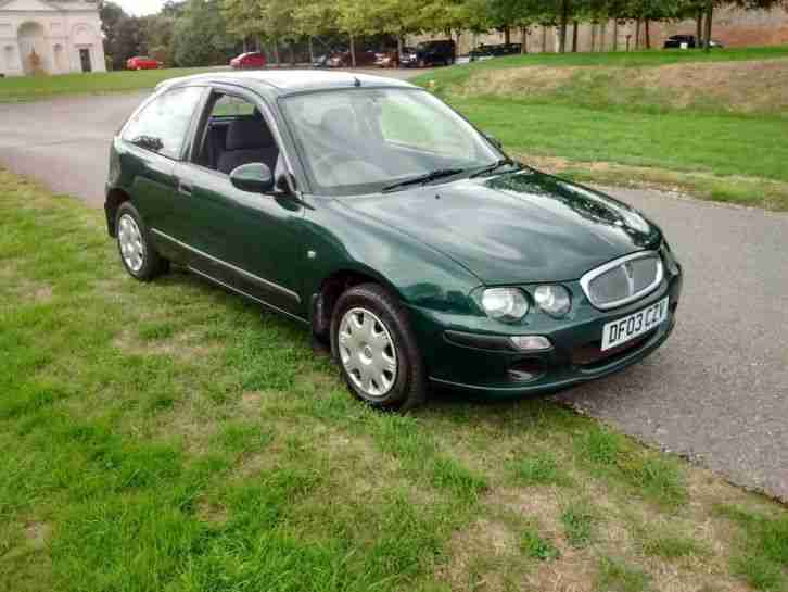 Rover 25. New. MG car from United Kingdom