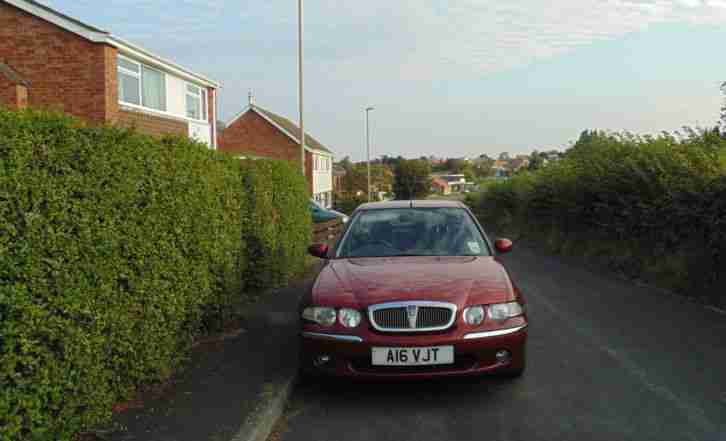 Rover 45 1.8i 2003 (private plate)