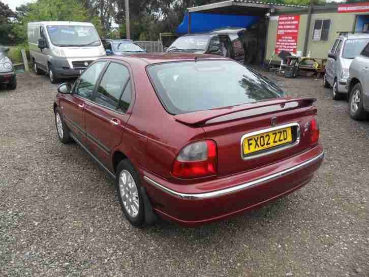 Rover 45 2.0 TD Diesel 5 Door Hatch Maroon Alloys 112k Full MOT, 02 Reg
