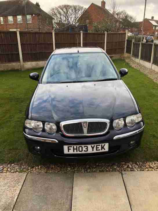 Rover 45 only 2 owners from new, 12 months