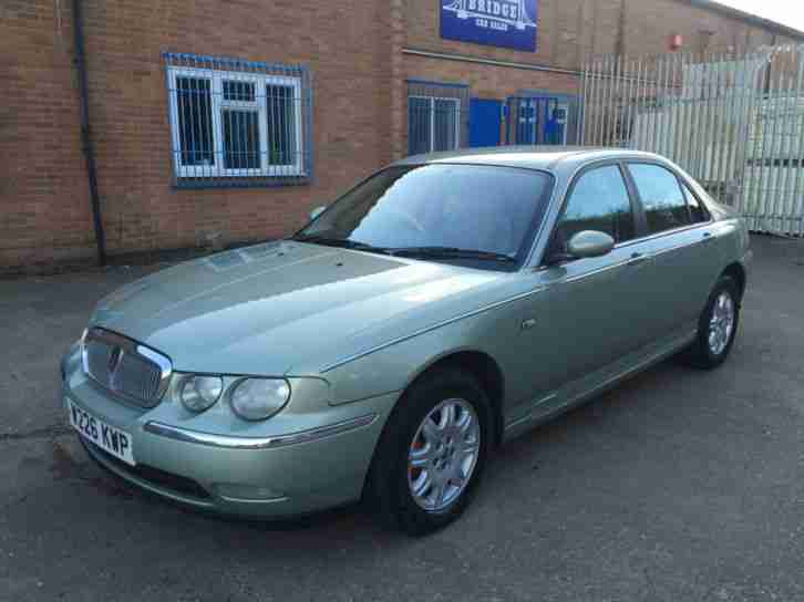 Rover 75 1.8 Club 2000 W ONLY 76K 2 OWNERS 12 MONTHS MOT BARGAIN