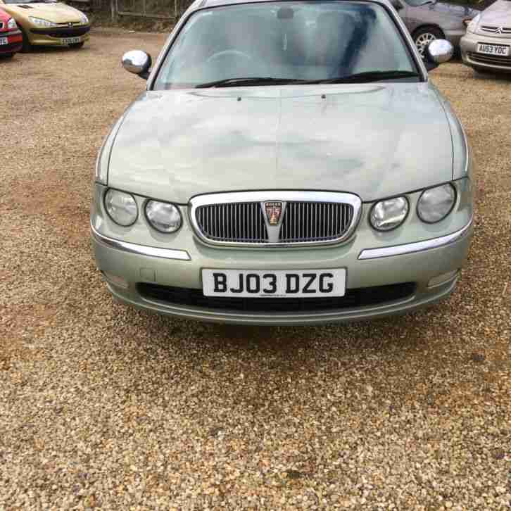 Rover 75 1.8 turbo only done 62k great car
