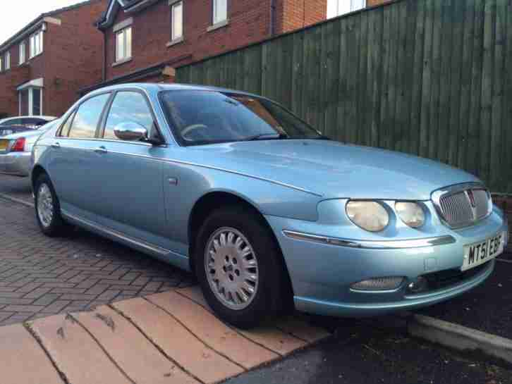 rover 75 2 0 cdt 1950cc auto connoisseur wedgewood blue sandstone. Black Bedroom Furniture Sets. Home Design Ideas