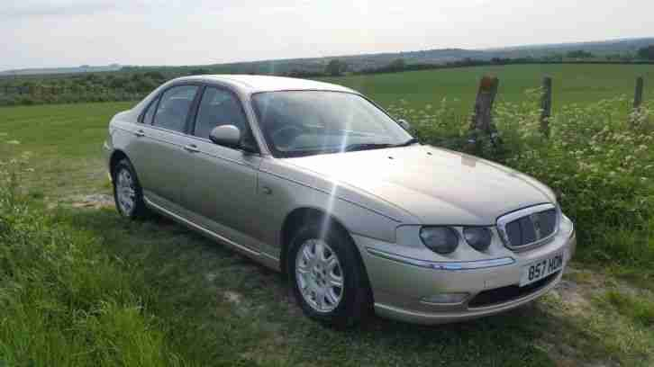 Rover 75 CDT Classic in White Gold, Brand New MOT.