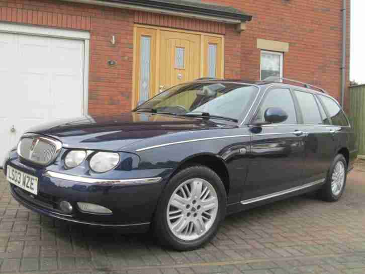 Rover 75 Tourer 2.0 CDTi 131 auto Club SE Diesel Estate - Royal Blue