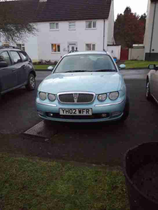 Rover 75 cdt estate relisted due to time wasters