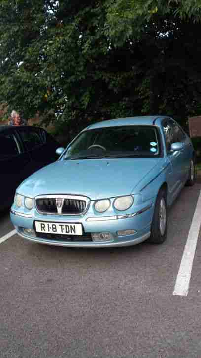 Rover 75 club SE 1.8 petrol: MOT needs