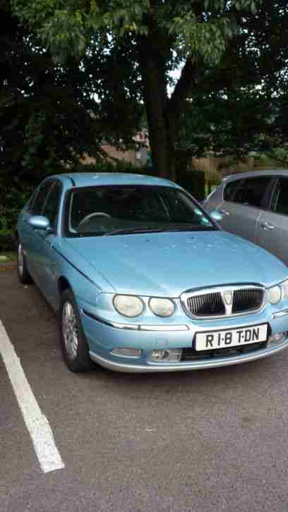 Rover 75 club SE 1.8 petrol: MOT needs emissions sorting out!