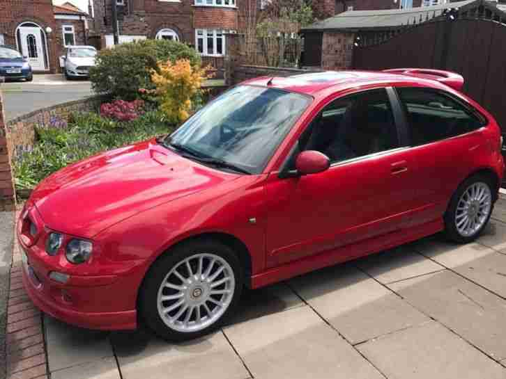 MG Rover ZR. MG car from United Kingdom