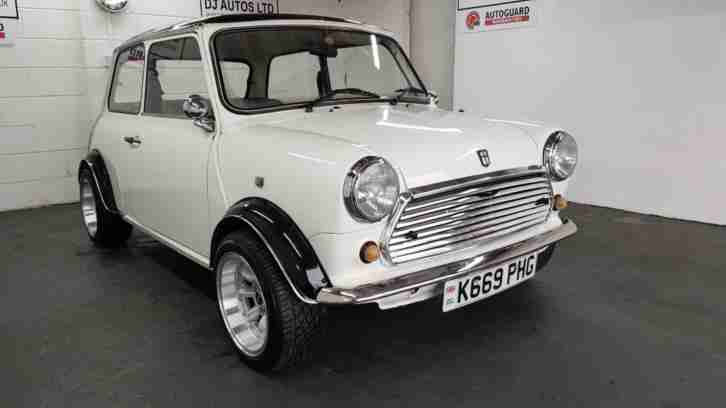 Rover MINI MAYFAIR white 1300 engine fitted