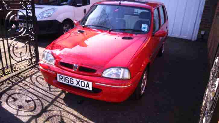 Rover Metro 114 GSI in Red