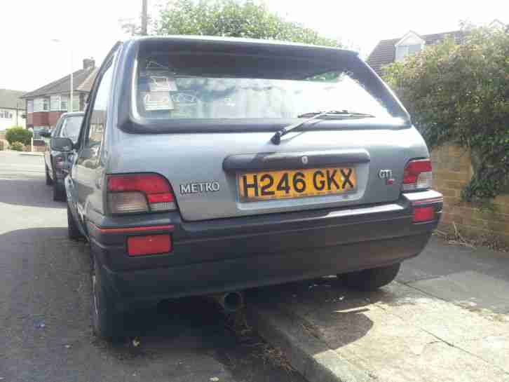 Rover Metro Gti Vvc Converted Spares Or Repair Car For Sale