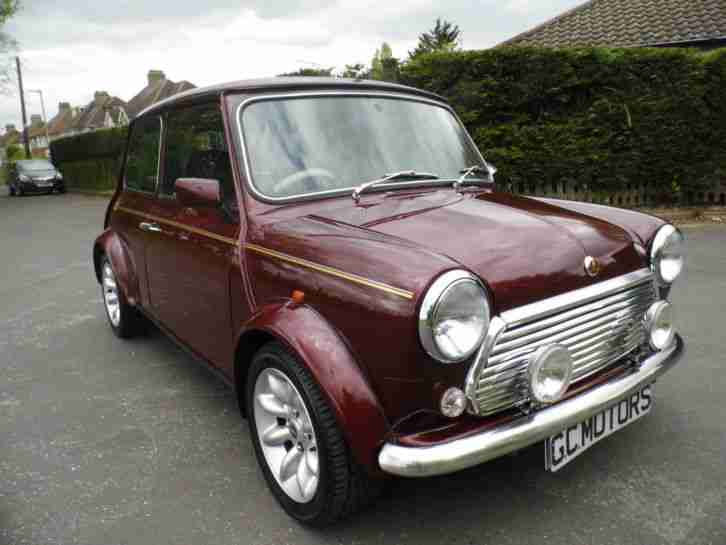Rover Mini 1.3i ( Mulberry Red ) 40 LE