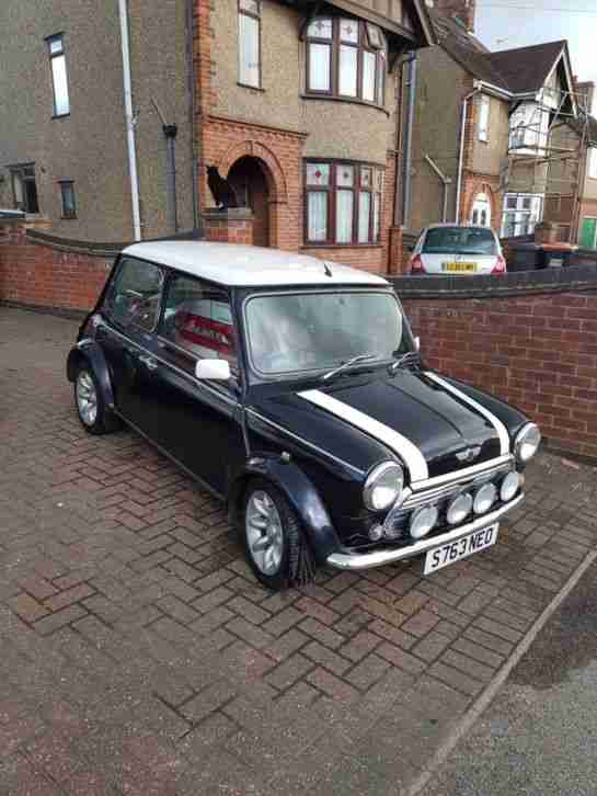 Rover Mini Cooper. Rover car from United Kingdom