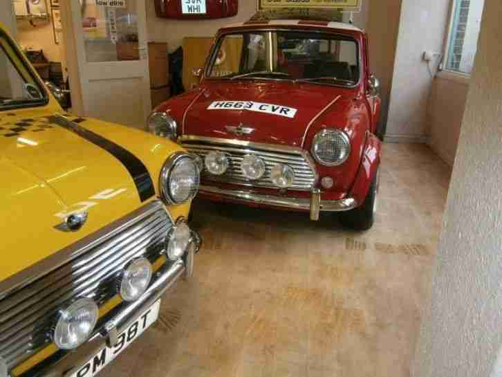 Rover Mini RACG FLAME CHECKMATE PETROL MANUAL 1990/H