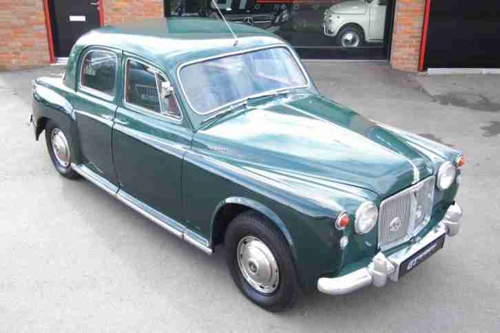 Rover P4 100. MG car from United Kingdom