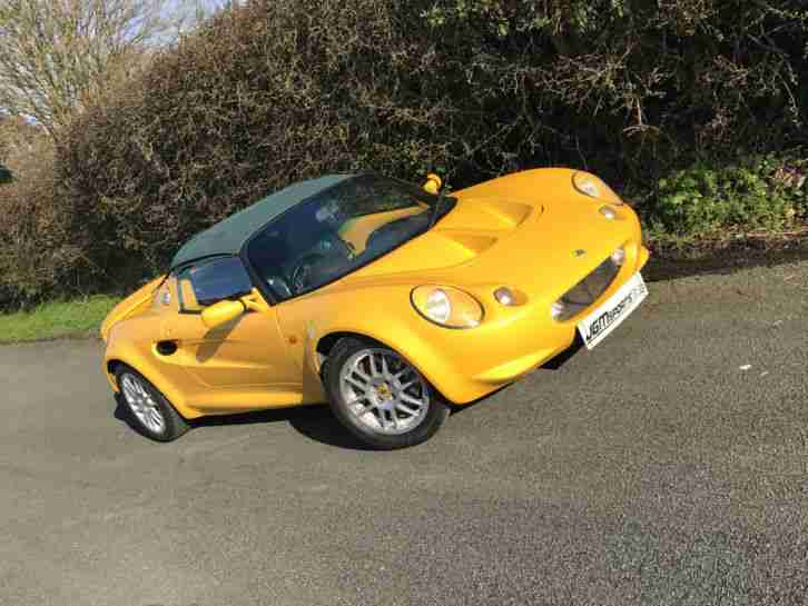 S1 LOTUS ELISE MUSTARD YELLOW RECENT CAMBELT VERY COMPETITIVELY PRICED 2000