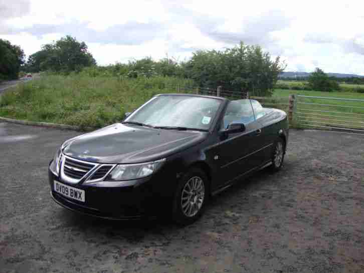SAAB 2009 1.9TDI CABRIOLET BEAUTIFUL CONDITION LOW MILEAGE!!!