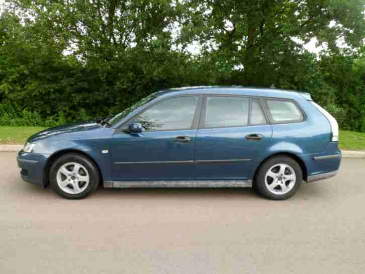 SAAB 9-3 1.9L DT SPORTWAGON 120BHP 6 SPEED MANUAL AIRCON SUPERB DRIVER 2006
