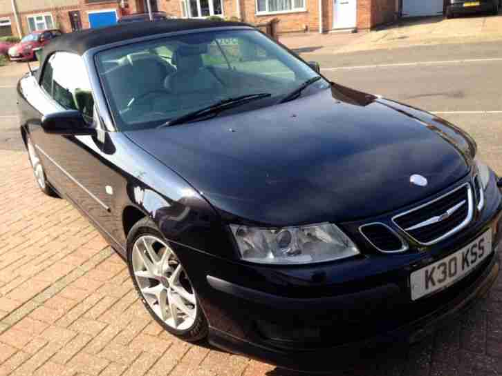 SAAB 9-3 AERO 210 BHP CONVERTIBLE PRIVATE PLATE