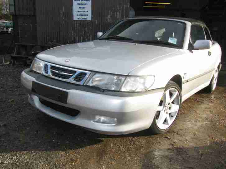 SAAB 9 3 AERO CONVERTIBLE AUTO 29,000 MILES FULL HISTORY- LOVELY CAR LOW MILEAGE