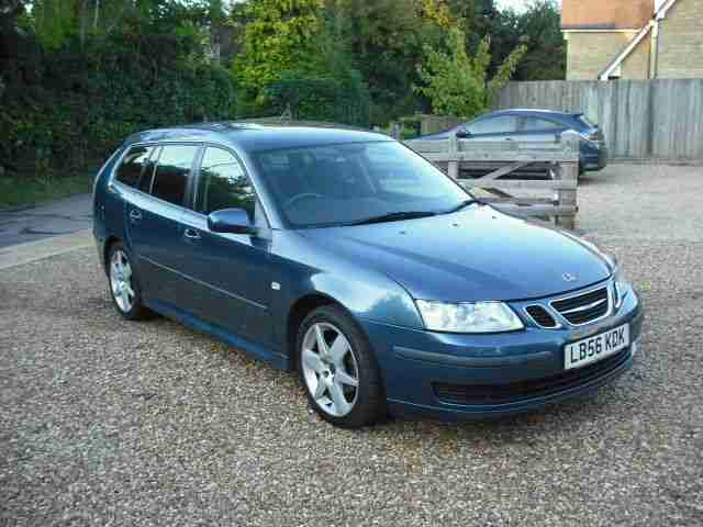 SAAB 9-3 AIRFLOW 56 PLATE 150 BHP BLUE LOW MILEAGE FSH NEW FLYWHEEL AND CLUTCH