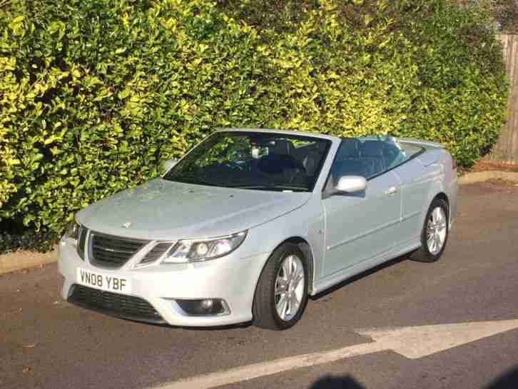 SAAB 9 3 Aero 6 sp manual 2008 54276 miles New MOT Fabulous condition