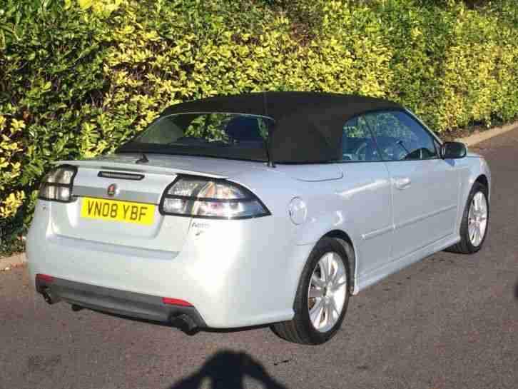 SAAB 9-3 Aero 6 sp manual 2008 54276 miles - New MOT Fabulous condition