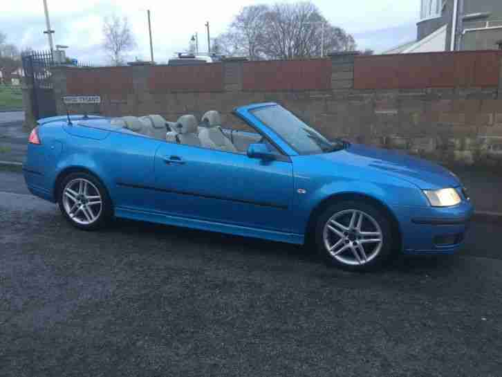 9 3 CONVERTIBLE 1.9 tdi NEW MOT