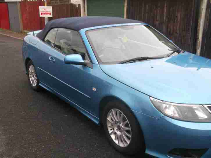 SAAB 9-3 CONVERTIBLE LINEAR 150BHP 57 REG 1.9 TDI 2007 REDUCED/REDUCED